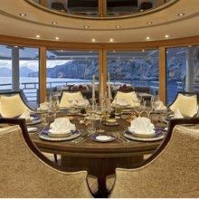 Ventum Maris Yacht Seating Area