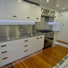 Ubi Bene Yacht Galley
