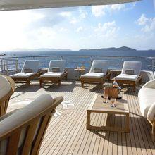 Harle Yacht Deck - Sun Loungers