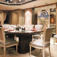 Lady M II Yacht Dining Salon