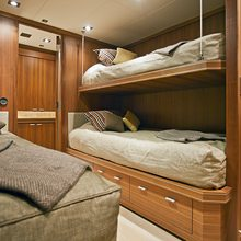 Bagheera Yacht Twin Stateroom