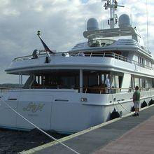 Lady M II Yacht Moored