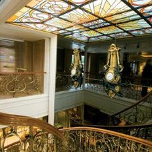 Savarona Yacht Stairwell