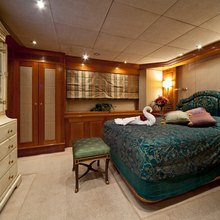 Lady Anastasia Yacht Blue Guest Stateroom