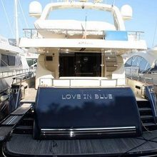 Love in Blue Yacht