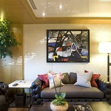 H Yacht Lounge Area