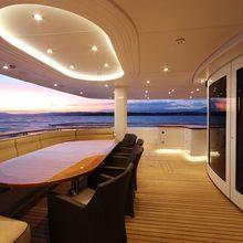 Huntress Yacht Sunset