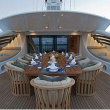 Ventum Maris Yacht External Seating