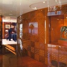 Bad Girl Yacht Dining Lobby