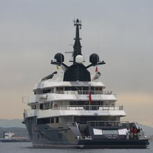 Seven Seas Yacht Stern View