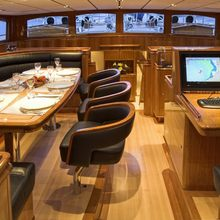 Seabiscuit Yacht Pilot House Facing Forward