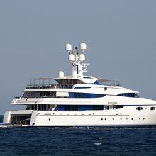 Zenobia Yacht Profile with Tender