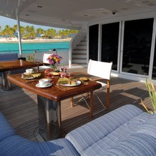 You & Me Yacht Aft Deck