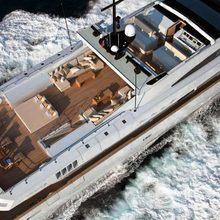 Fan Too Yacht Overhead