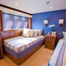 Regulus Yacht Twin Stateroom