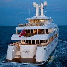 Huntress Yacht Stern - Evening