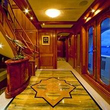 Lady Anastasia Yacht Foyer