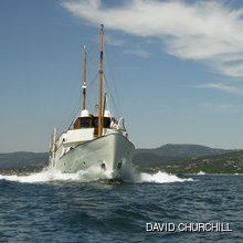 Blue Bird of 1938 Yacht