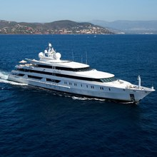 Neom Yacht Underway