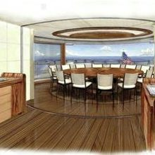 Seven Seas Yacht Artist's Impression - DiningRoom
