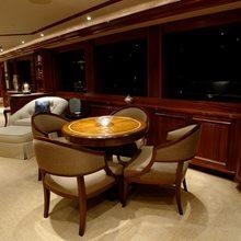 Nina Lu Yacht Salon - Card Table