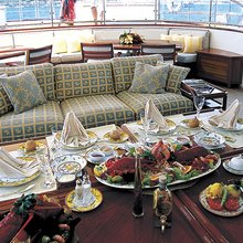 Atmosphere Yacht Exterior Dining