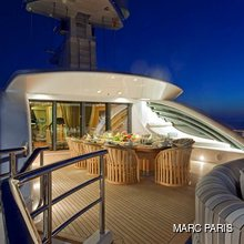 Ventum Maris Yacht Sundeck Dining Area