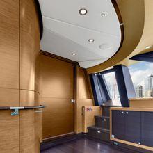 Kokomo III Yacht Interior Detail