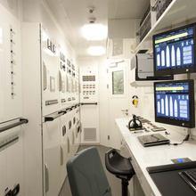 Huntress Yacht Control Room