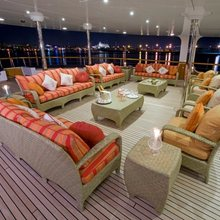 Leander G Yacht Main Deck Aft - Seating