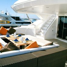 Barracuda Red Sea Yacht Upper Deck