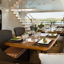 No Comment Yacht Exterior Dining