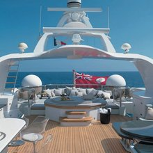 Il Sole Yacht Sundeck