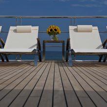 Huntress Yacht Sun Loungers