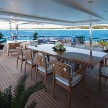 Vision Yacht Upper Deck