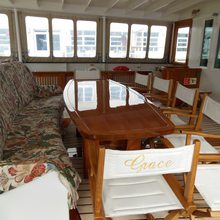 Elsa Yacht Dining Area - Day