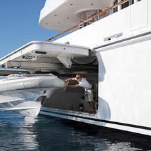 Huntress Yacht Tender Launching