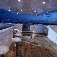Vision Yacht Exterior Bar