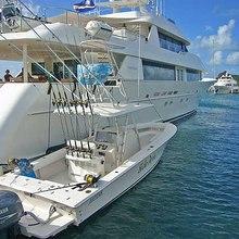 No Bad Ideas Yacht Tender Alongside