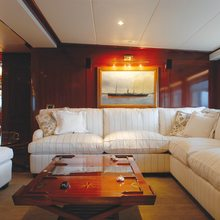 Ariete Primo Yacht Salon on Main Deck