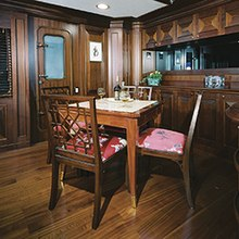 Focus Yacht Library Desk