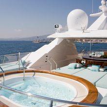 Mary A Yacht Jacuzzi