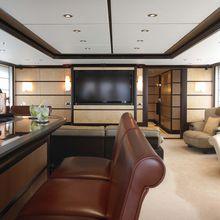 Harle Yacht Main Salon Looking Forward
