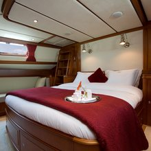 Corto Maltese Yacht Master Stateroom