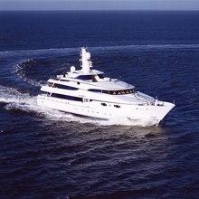 Zenobia Yacht Running Shot