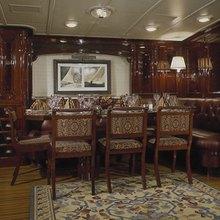 Ranger Yacht Dining Area