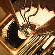 Reef Chief Yacht Staircase
