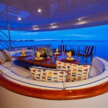Rena Yacht Upper Sundeck Seating