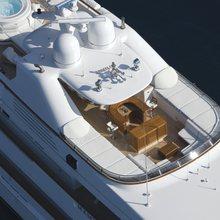 Ambition Yacht Aerial View - Decks