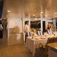 Ionian Princess Yacht Al Fresco Dining